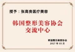 韩国整形美容协会交流中心
